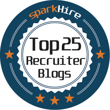 Top 25 Recruiter Blog Badge
