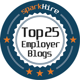Top 25 Employer Blog Badge