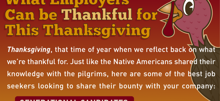 What Employers Can Be Thankful For This Thanksgiving [INFOGRAPHIC]