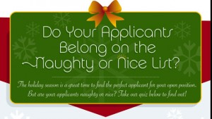 Infographic Quiz: Are Your Candidates Naughty or Nice?
