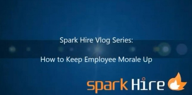 keeping employe emorale up