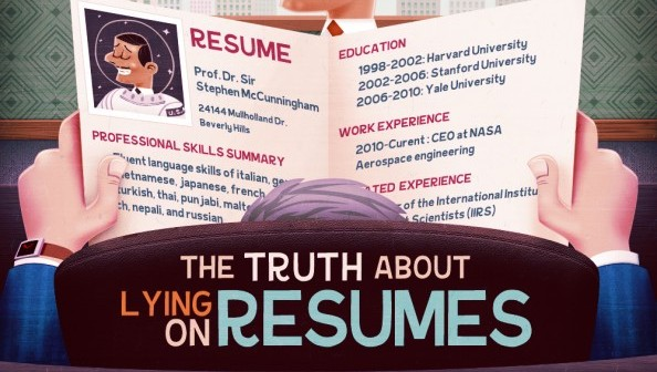 job seekers that lie on resumes - Lying On Resume