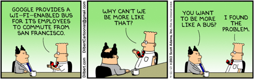 dilbert comic strips - Spark Hire