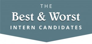 The Best & Worst Intern Candidates (by Intern Match)