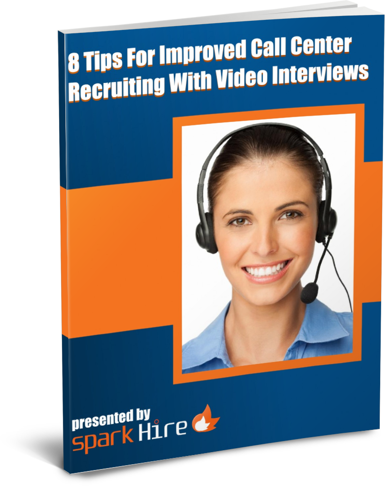 Video Interviews for Call Centers Whitepaper Cover