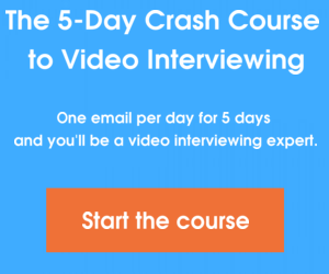 The 5-Day Crash Course to Video Interviewing