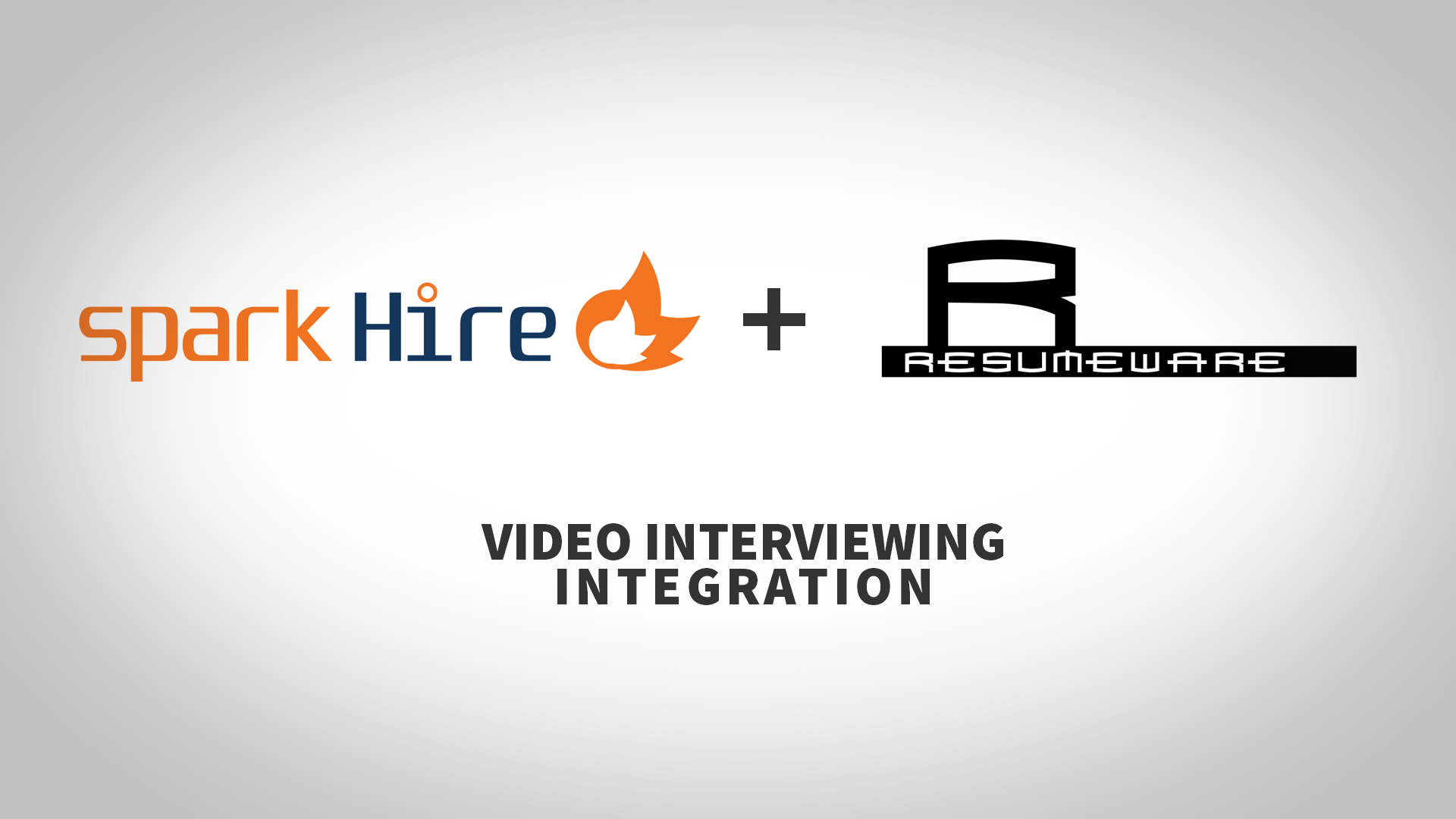 spark hire and resumeware video interviewing integration