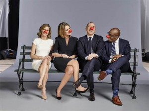 Red Nose Day Anchors Today