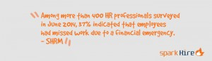Spark-Hire-400-HR-Professionals-37-Percent-Financial-Emergency