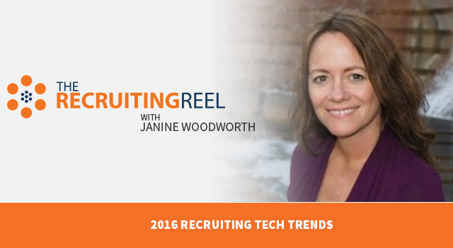 The Recruiting Reel with Janine Woodworth