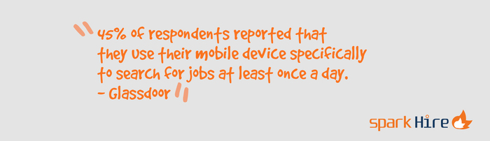 Spark-Hire-45-Percent-Mobile-Device-Search-Jobs