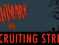 Nightmare on Recruiting Street Infographic