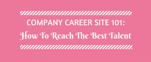 Company Career Site