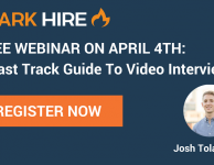A Fast Track Guide To Video Interviews Webinar Promo