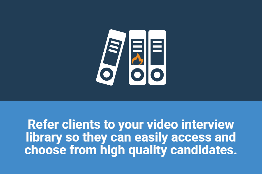 video interview library