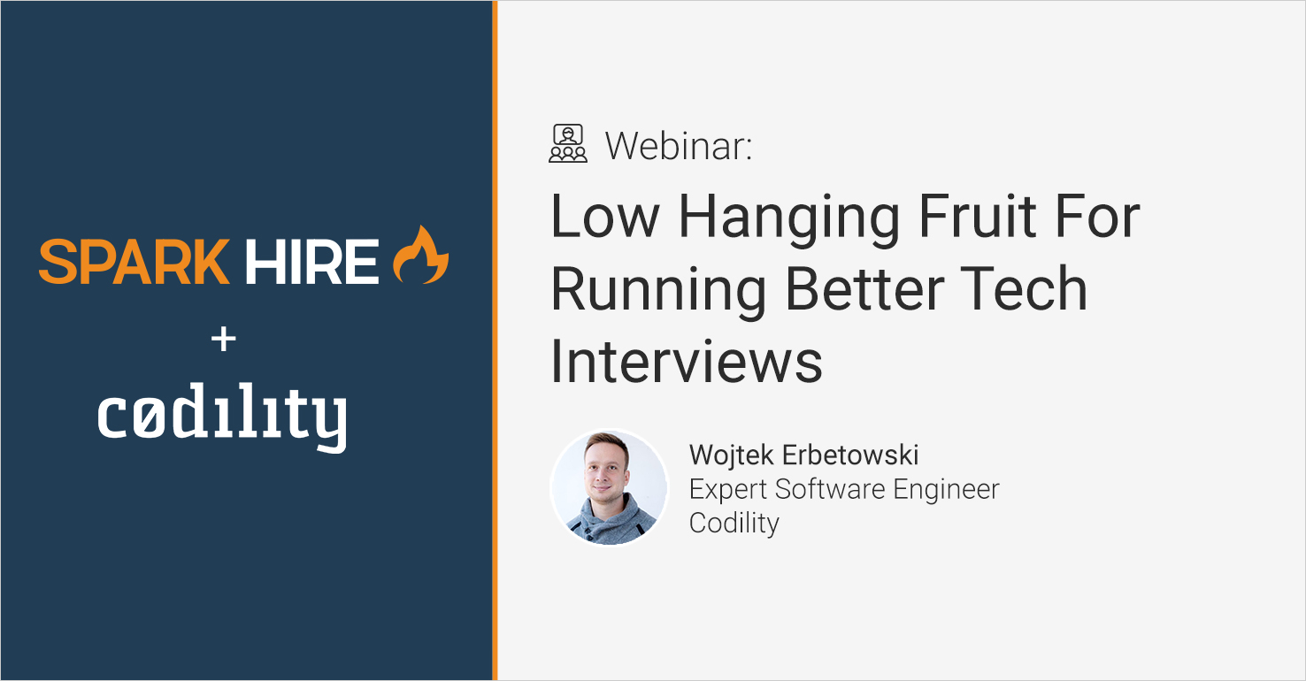 Low Hanging Fruit For Running Better Technical Interviews