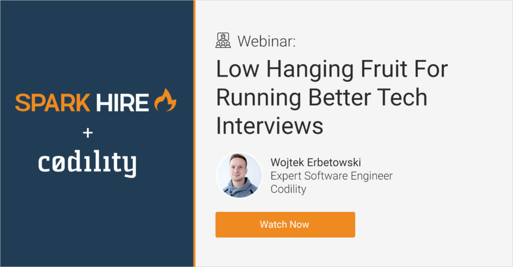 Low Hanging Fruit For Running Better Tech Interviews