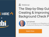 The Step-by-Step Guide to Creating & Improving Your Background Check Policy