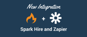 Spark Hire and Zapier