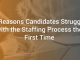 4 Reasons Candidates Struggle with the Staffing Process the First Time