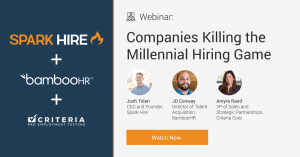 Watch Companies Killing the Millennial Hiring Game